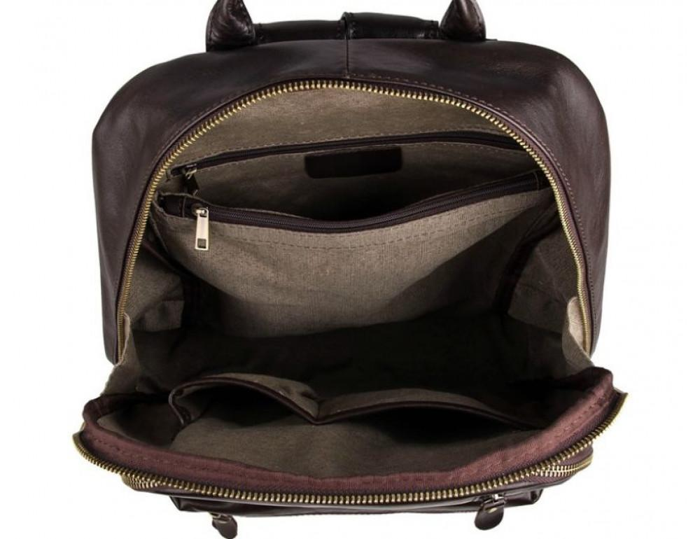 Чоловічий шкіряний рюкзак TIDING BAG 7313Q - Фотографія № 5