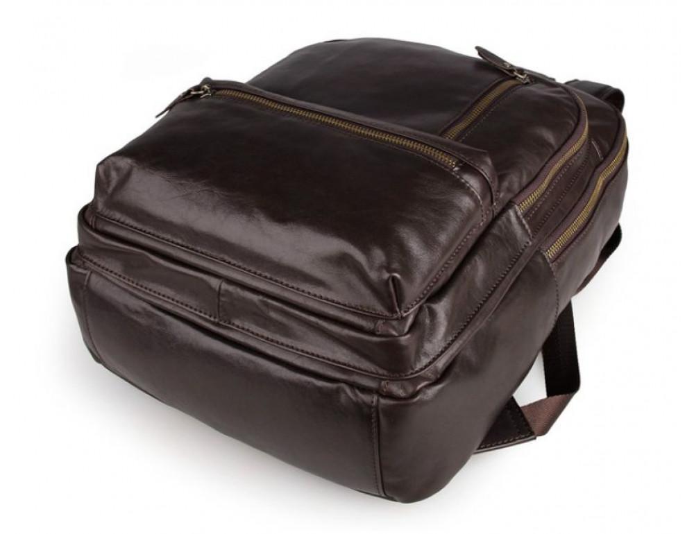 Чоловічий шкіряний рюкзак TIDING BAG 7313Q - Фотографія № 6