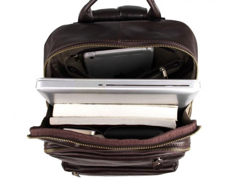 Чоловічий шкіряний рюкзак TIDING BAG 7313Q - Фотографія № 7