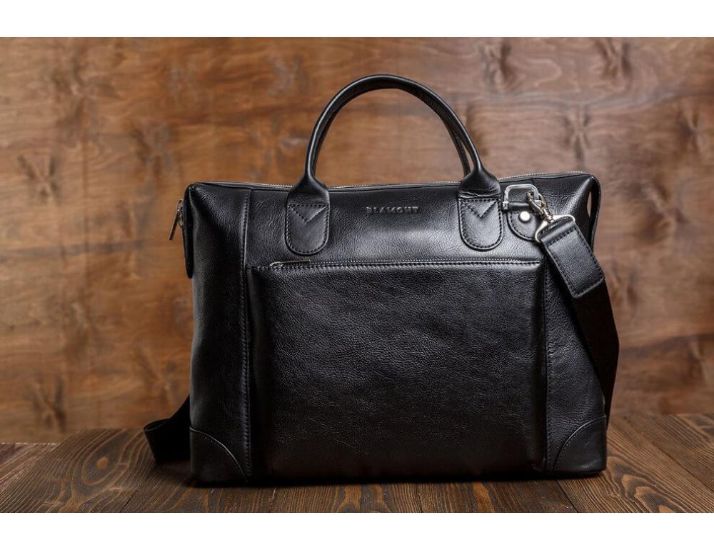 Мужская кожаная сумка Blamont Bn006A - Фото № 13