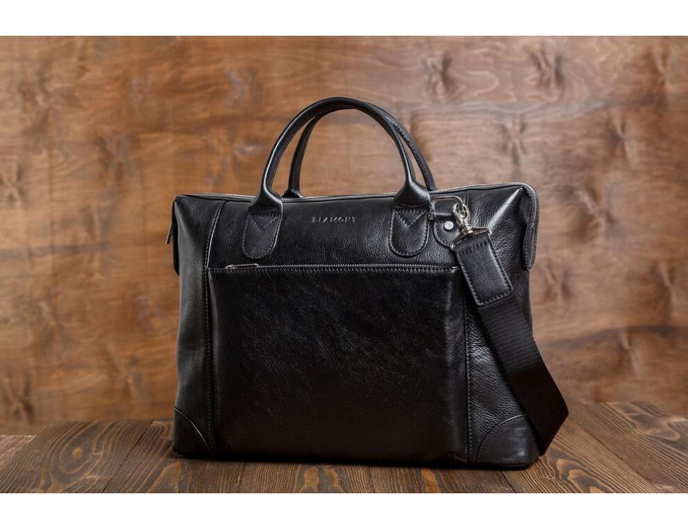 Мужская кожаная сумка Blamont Bn006A - Фото № 3