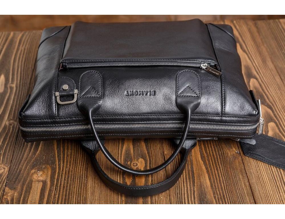 Мужская кожаная сумка Blamont Bn006A - Фото № 6
