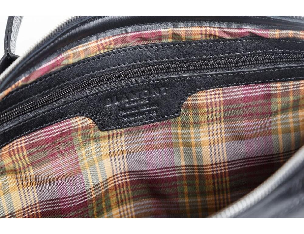 Мужская кожаная сумка Blamont Bn006A - Фото № 10