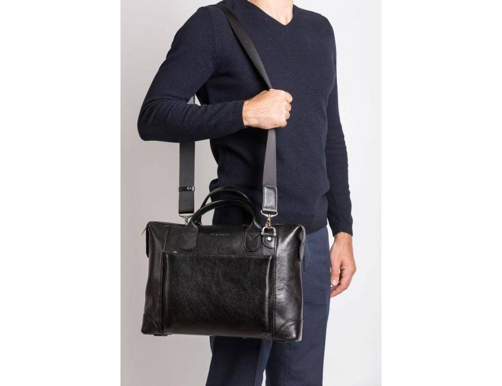 Мужская кожаная сумка Blamont Bn006A - Фото № 2