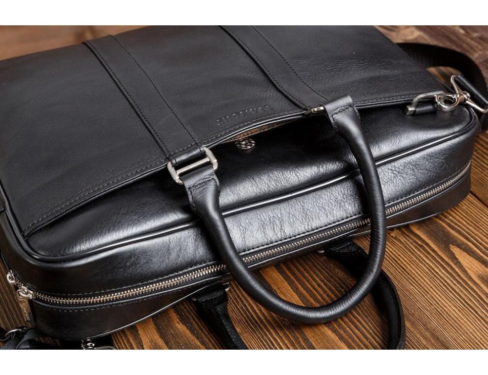 Чоловіча шкіряна сумка Blamont Bn023A - Фотографія № 10