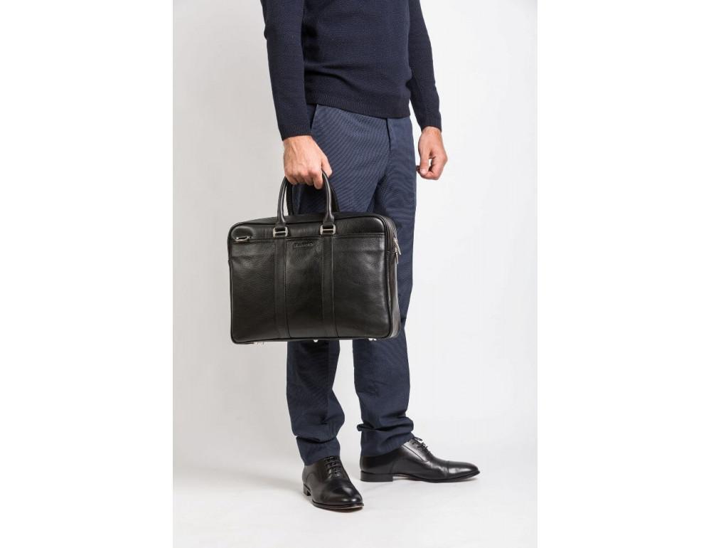 Чоловіча шкіряна сумка Blamont Bn023A - Фотографія № 2