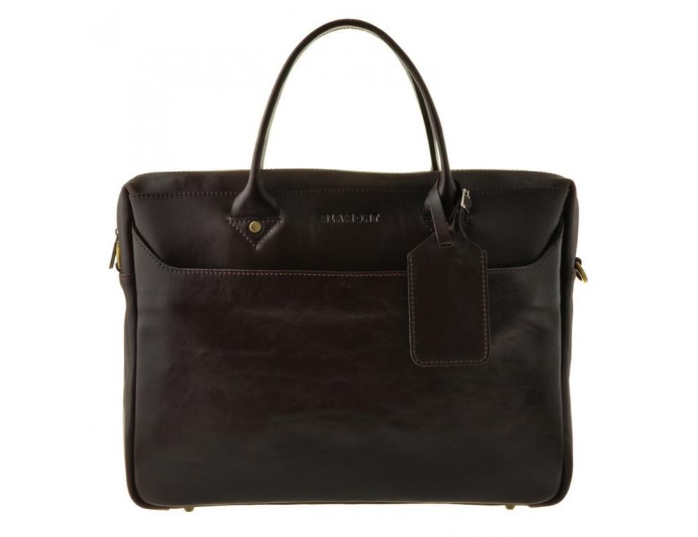Мужская кожаная сумка Blamont Bn024C