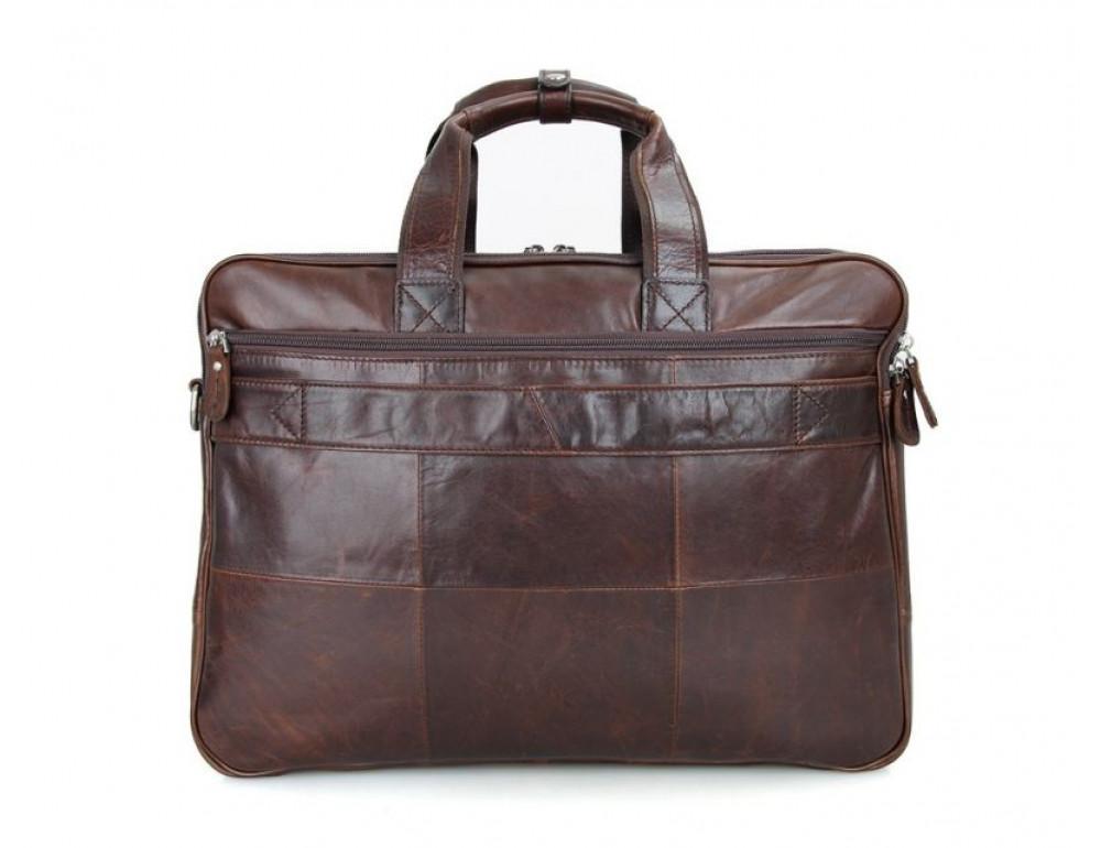 Мужская кожаная сумка TIDING BAG 7343C - Фото № 3