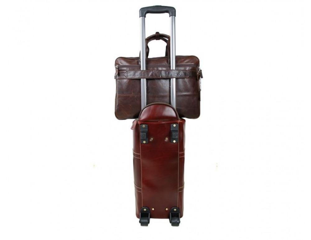 Мужская кожаная сумка TIDING BAG 7343C - Фото № 5