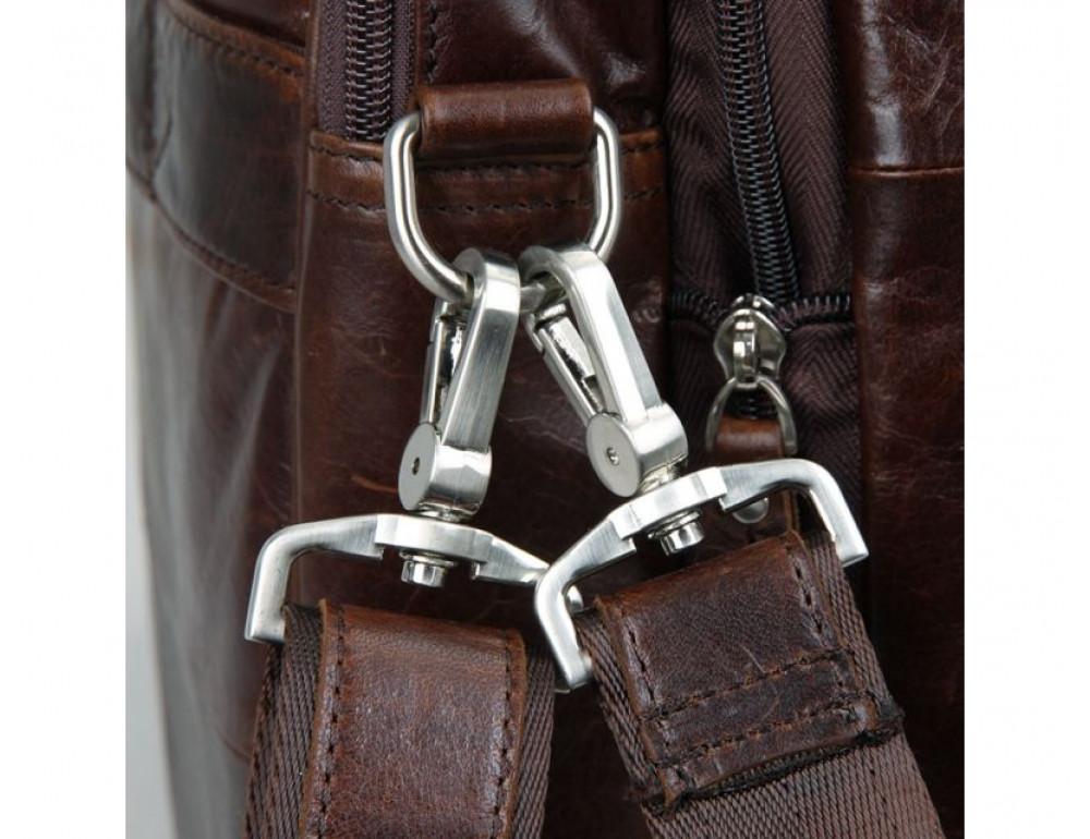 Мужская кожаная сумка TIDING BAG 7343C - Фото № 7