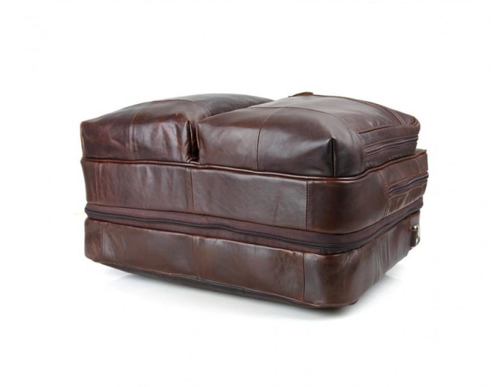 Мужская кожаная сумка TIDING BAG 7343C - Фото № 10