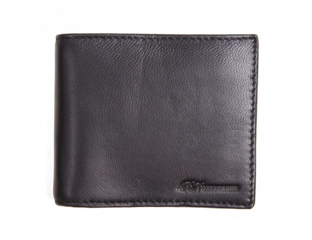 Кожаный портмоне Ruff Ryder RE-00248W чёрный - Фото № 2