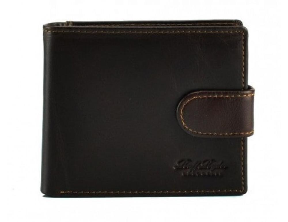 Шкіряні портмоне Ruff Ryder RE-00320W коричневий