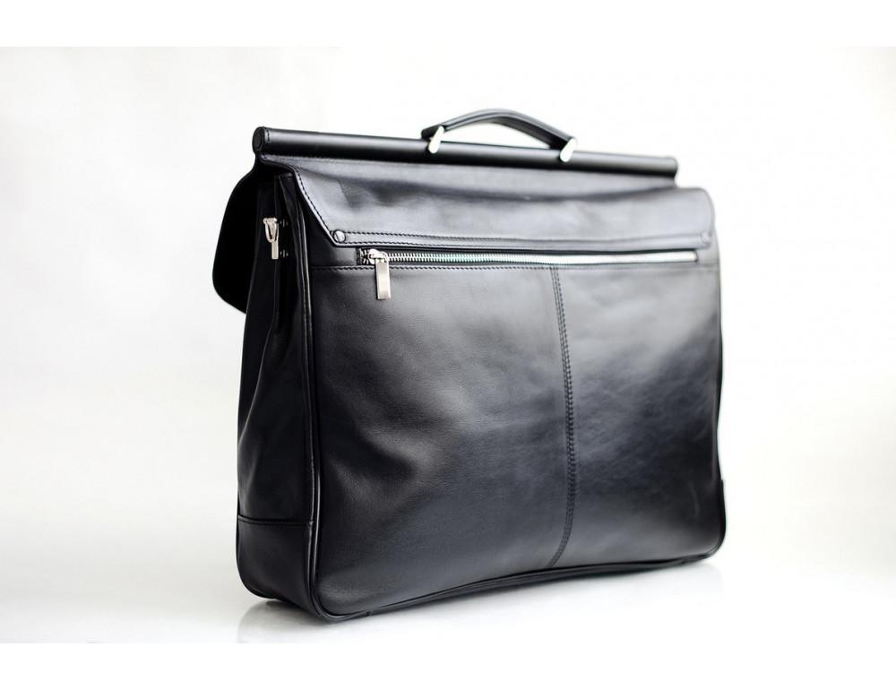 Вместительный кожаный портфель Blamont Bn017A - Фото № 8