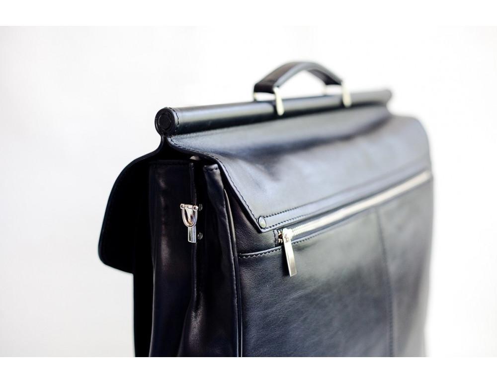 Вместительный кожаный портфель Blamont Bn017A - Фото № 7