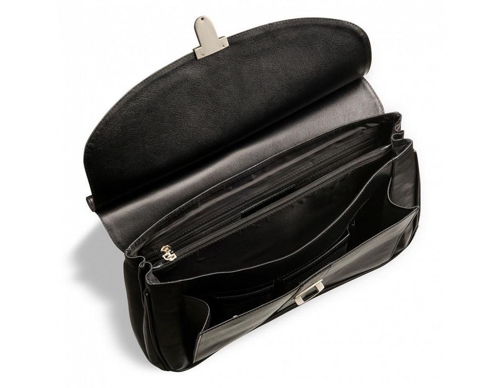 Вместительный кожаный портфель Blamont Bn017A - Фото № 5