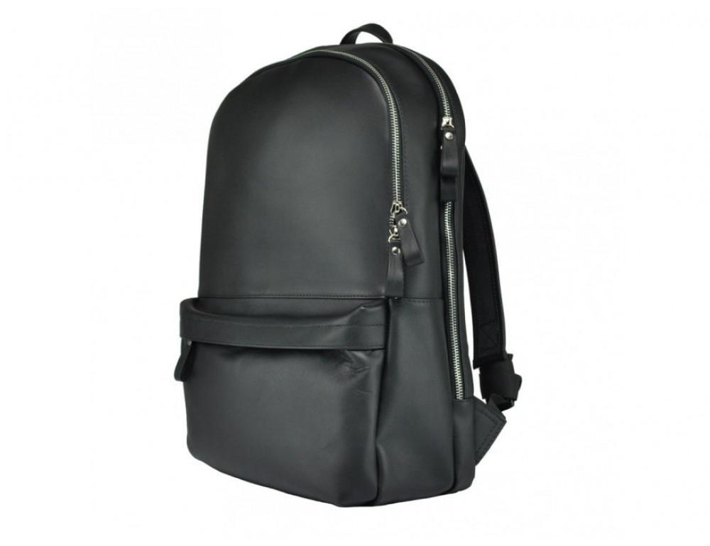 Рюкзак кожаный TIDING BAG 7273A-1 чёрный - Фото № 4