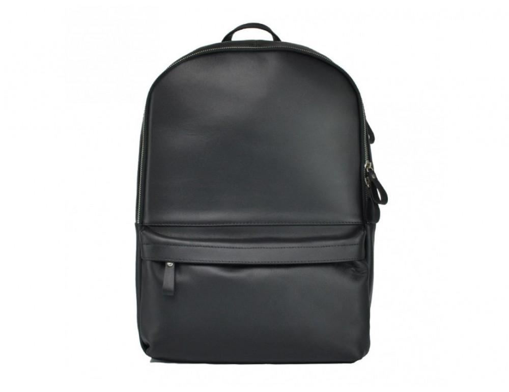Рюкзак кожаный TIDING BAG 7273A-1 чёрный - Фото № 2