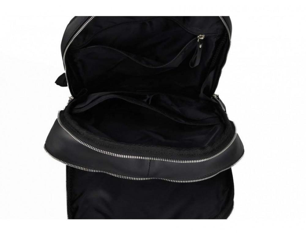 Рюкзак кожаный TIDING BAG 7273A-1 чёрный - Фото № 3