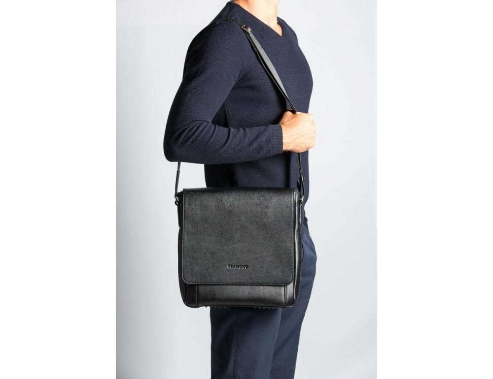 Мужская кожаная сумка-мессенджер Bn082A - Фото № 2