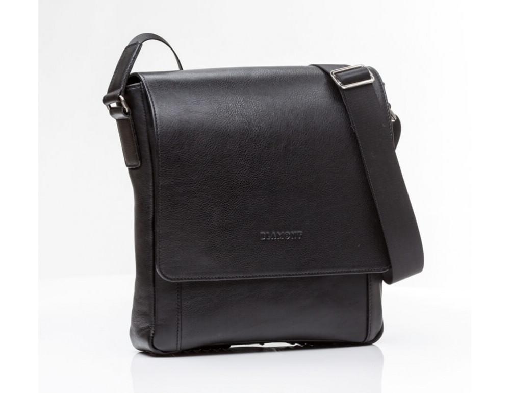 Мужская кожаная сумка-мессенджер Bn082A - Фото № 4