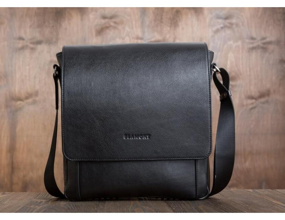 Мужская кожаная сумка-мессенджер Bn082A - Фото № 6