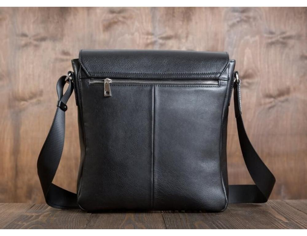 Мужская кожаная сумка-мессенджер Bn082A - Фото № 7