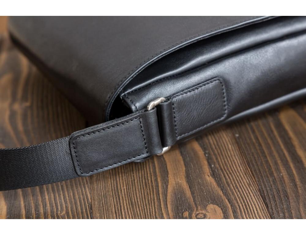 Мужская кожаная сумка-мессенджер Bn082A - Фото № 9