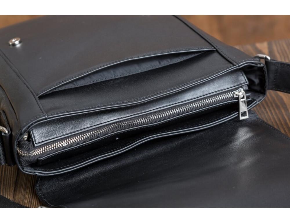 Мужская кожаная сумка-мессенджер Bn082A - Фото № 10