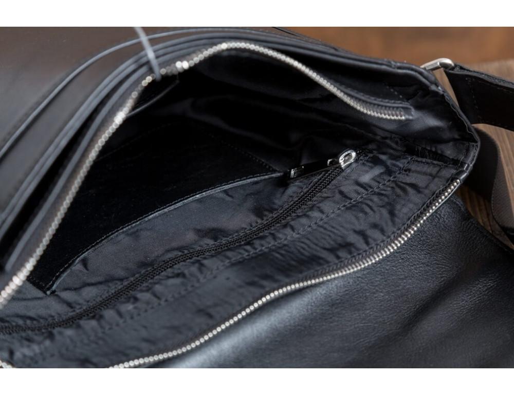 Мужская кожаная сумка-мессенджер Bn082A - Фото № 11