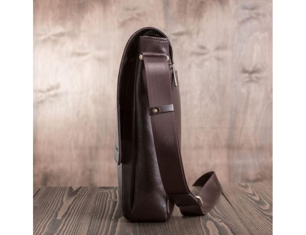 Мужская кожаная сумка-мессенджер Bn082C - Фото № 5