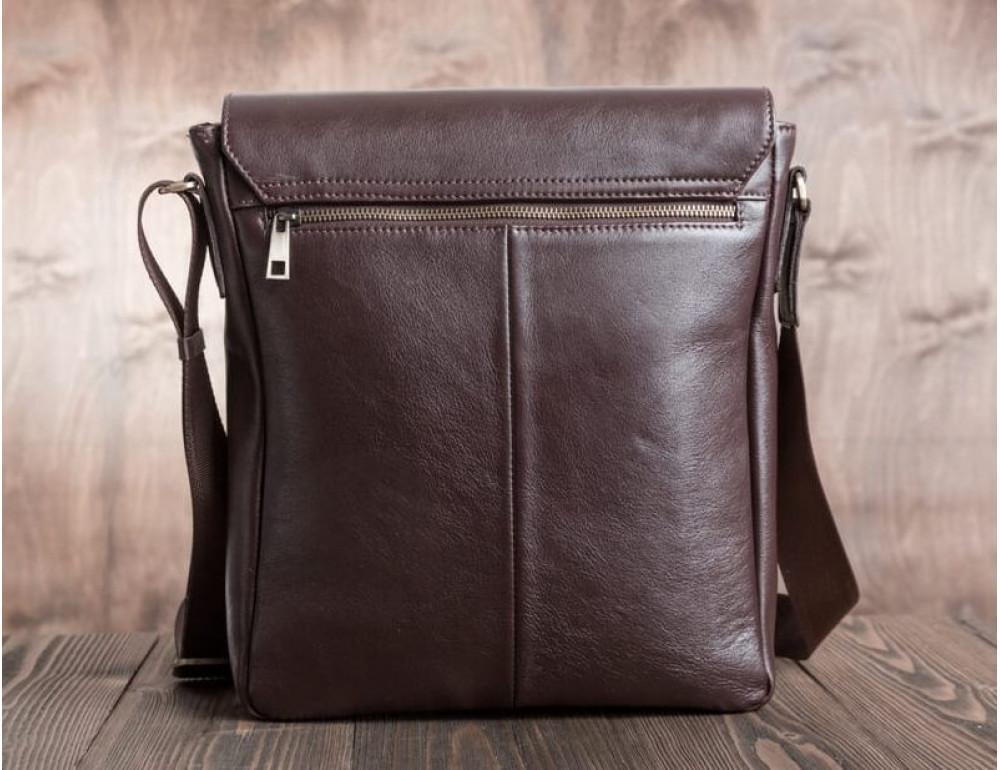 Мужская кожаная сумка-мессенджер Bn082C - Фото № 6