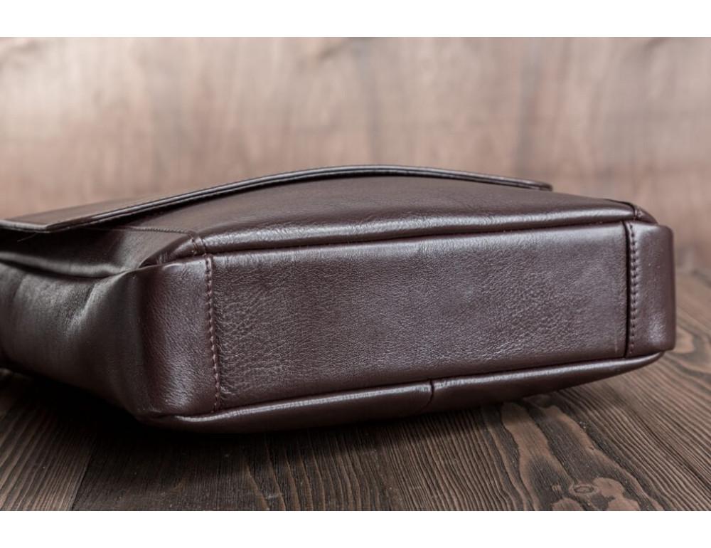 Мужская кожаная сумка-мессенджер Bn082C - Фото № 7