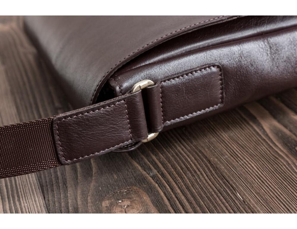 Мужская кожаная сумка-мессенджер Bn082C - Фото № 8