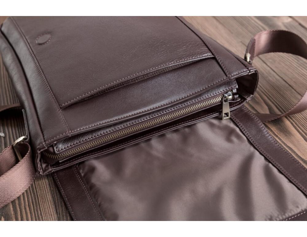 Мужская кожаная сумка-мессенджер Bn082C - Фото № 9