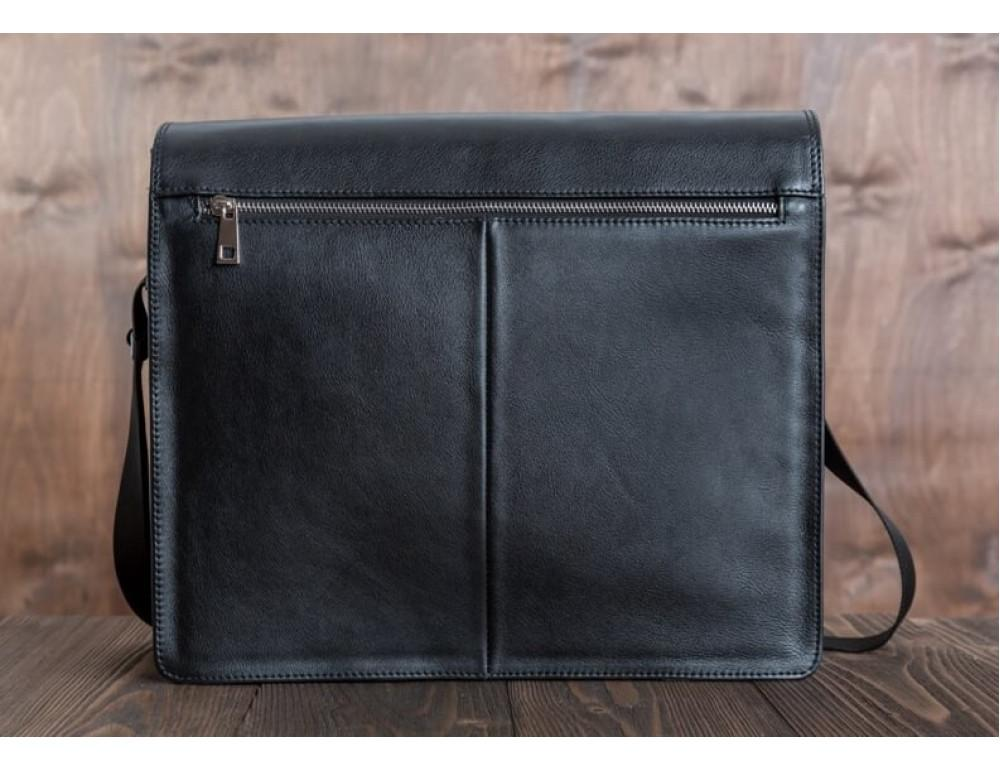 Мужская кожаная сумка-мессенджер Bn090A - Фото № 5