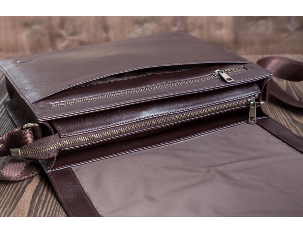Мужская кожаная сумка-мессенджер BN090C - Фото № 5