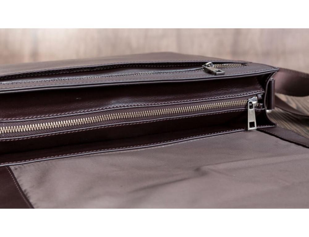 Мужская кожаная сумка-мессенджер BN090C - Фото № 4