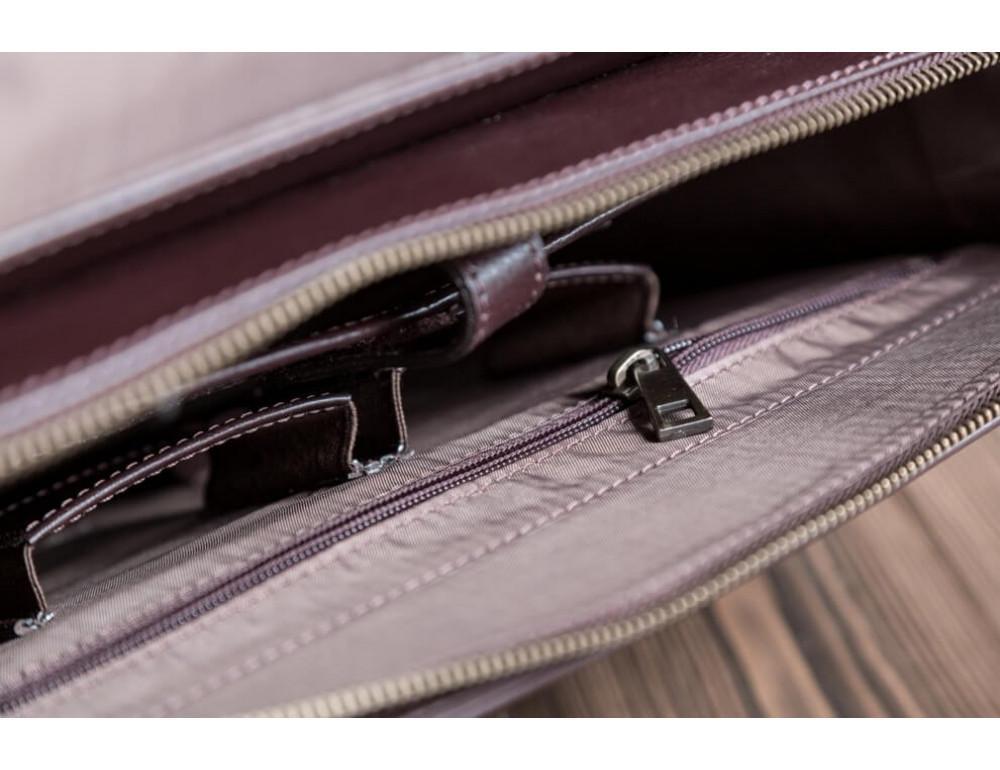 Мужская кожаная сумка-мессенджер BN090C - Фото № 3