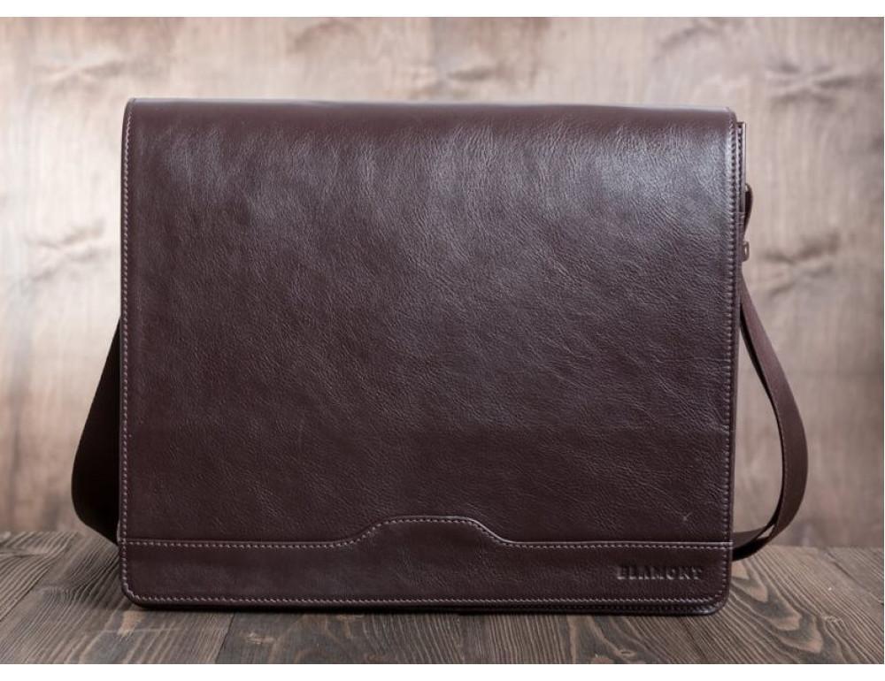 Мужская кожаная сумка-мессенджер BN090C - Фото № 6