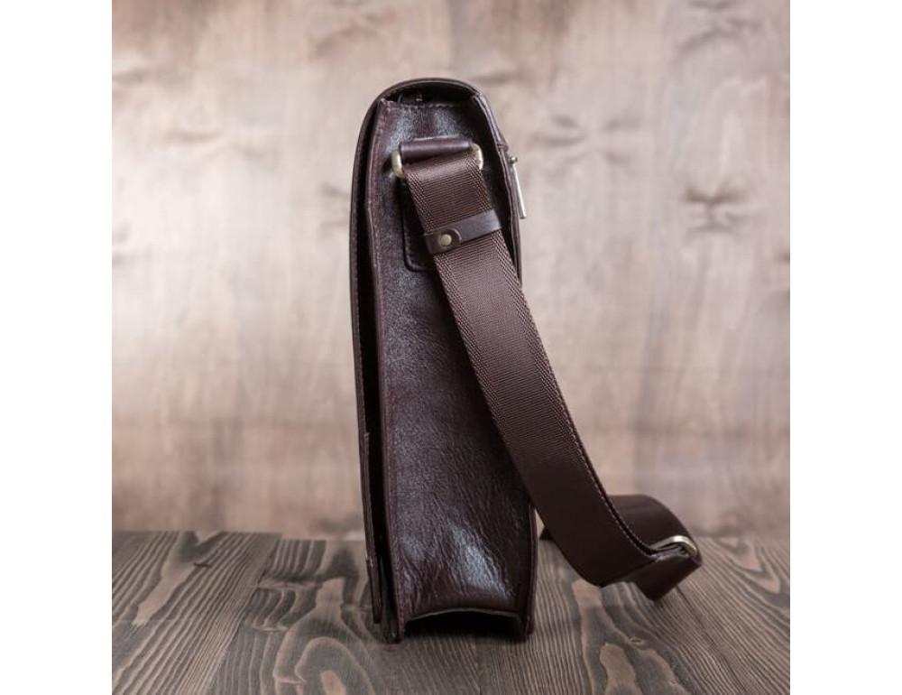 Мужская кожаная сумка-мессенджер BN090C - Фото № 7