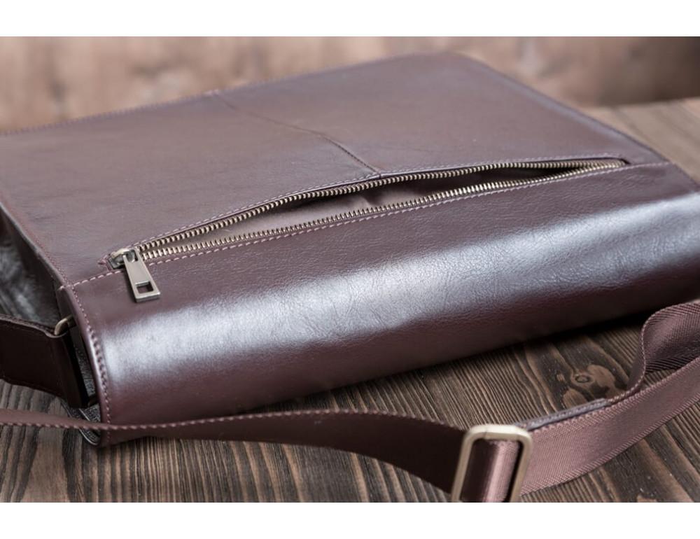 Мужская кожаная сумка-мессенджер BN090C - Фото № 12