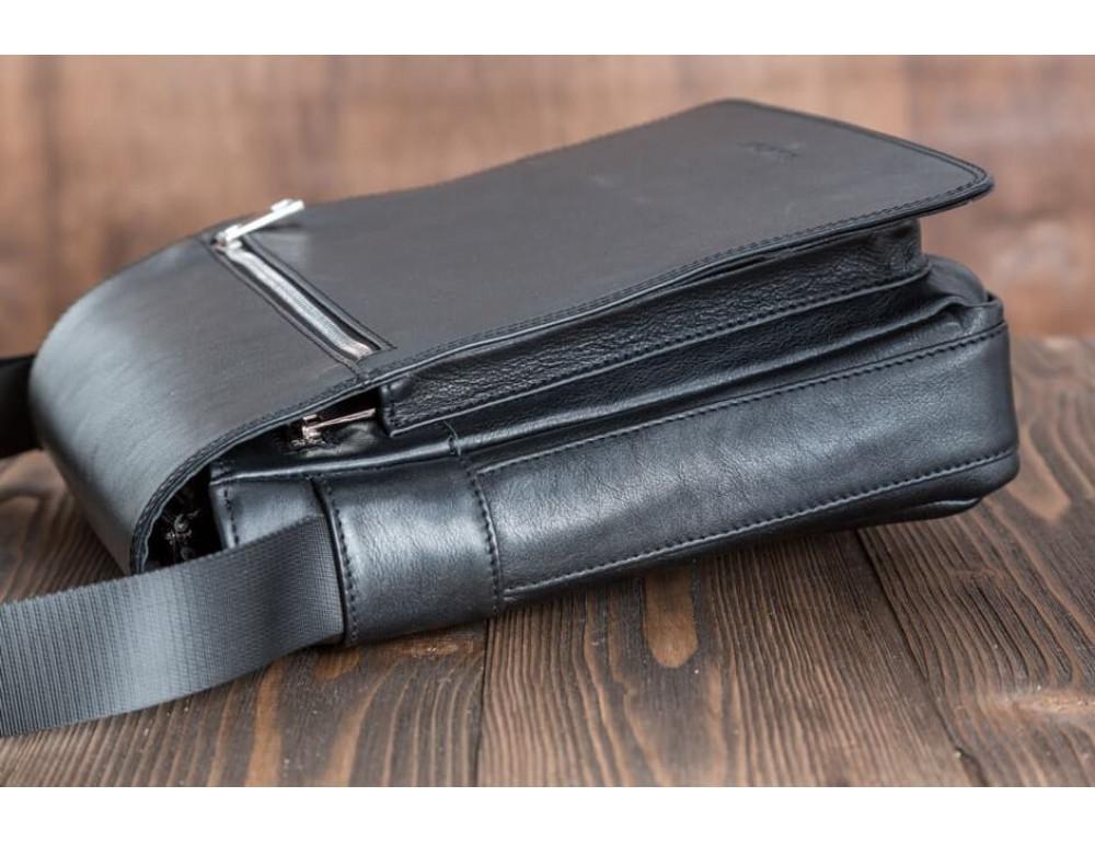 Мужская кожаная сумка-мессенджер Bn091A - Фото № 6
