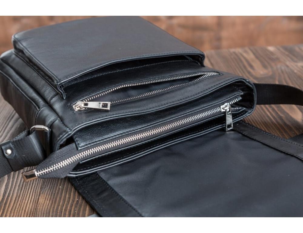 Мужская кожаная сумка-мессенджер Bn091A - Фото № 5