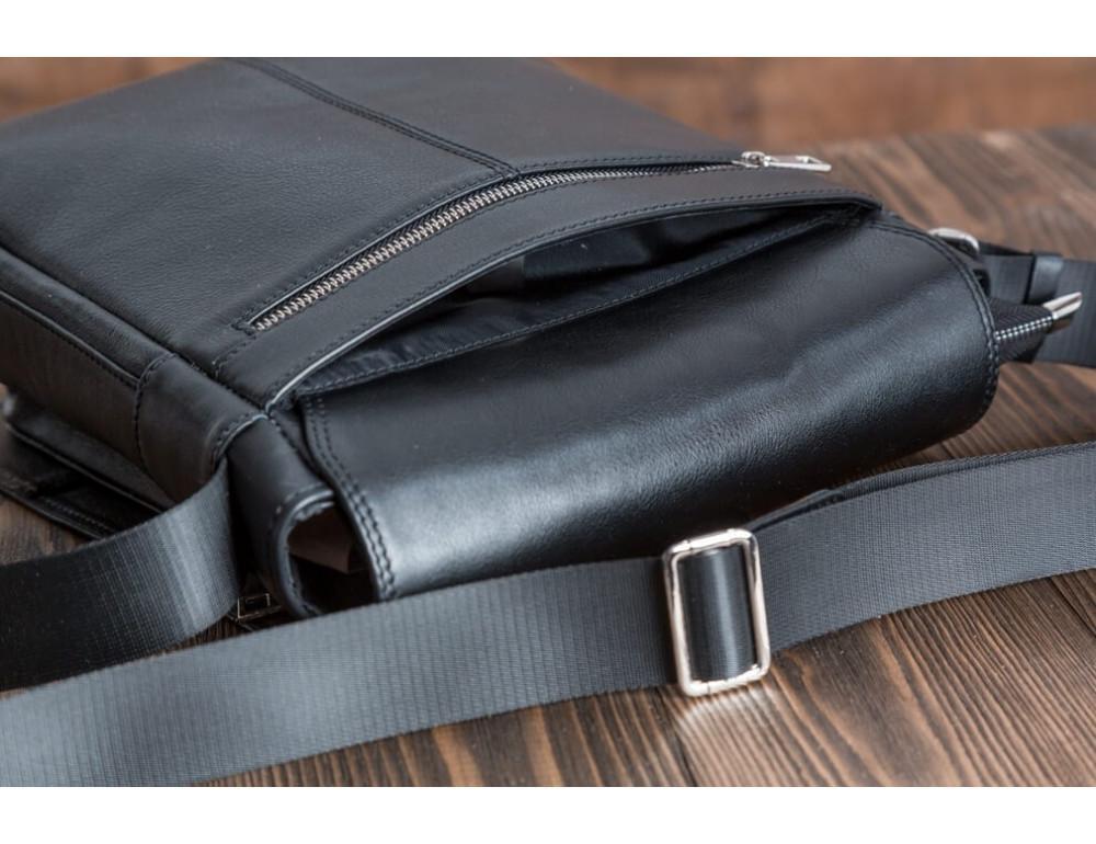 Мужская кожаная сумка-мессенджер Bn091A - Фото № 4