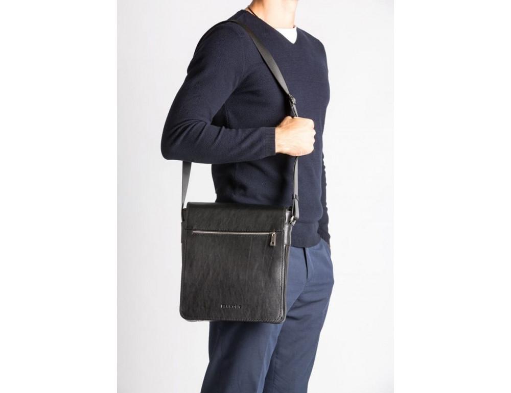 Мужская кожаная сумка-мессенджер Bn091A - Фото № 2