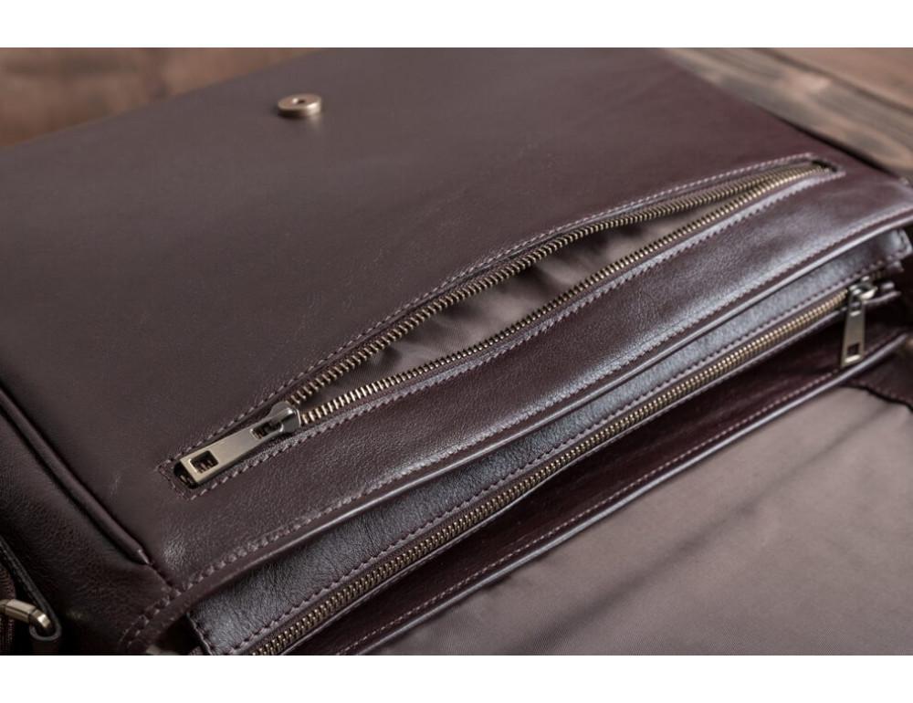 Мужская кожаная сумка-мессенджер BN092C - Фото № 10