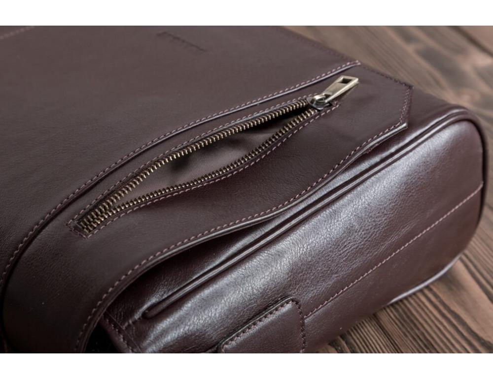 Мужская кожаная сумка-мессенджер BN092C - Фото № 13
