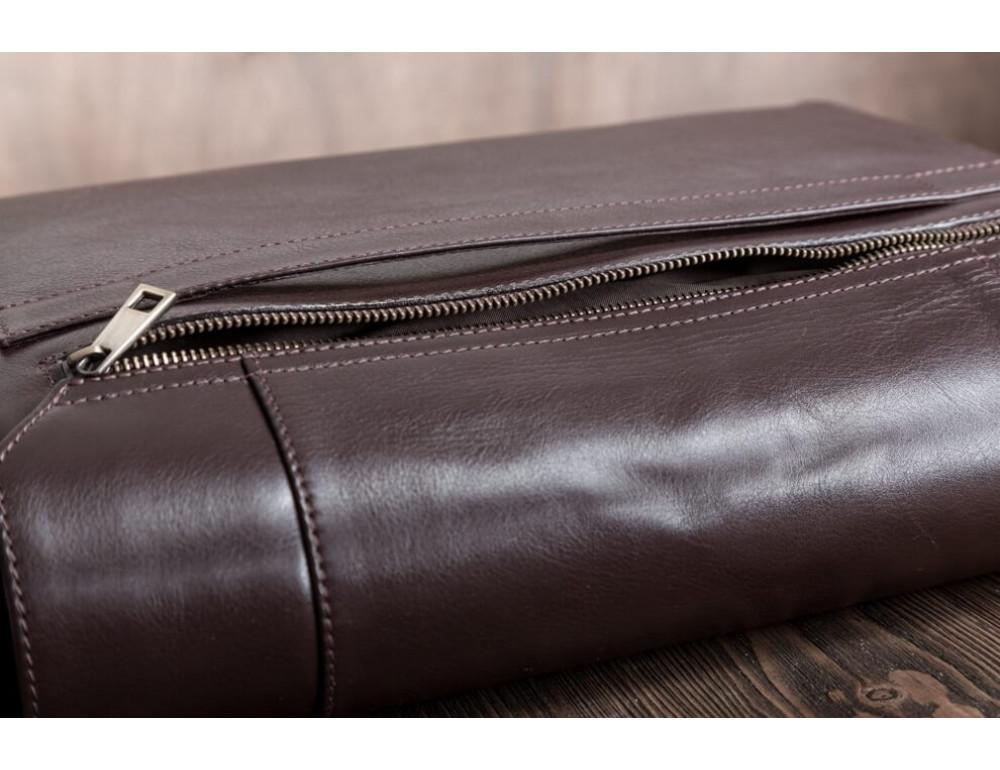 Мужская кожаная сумка-мессенджер BN092C - Фото № 12