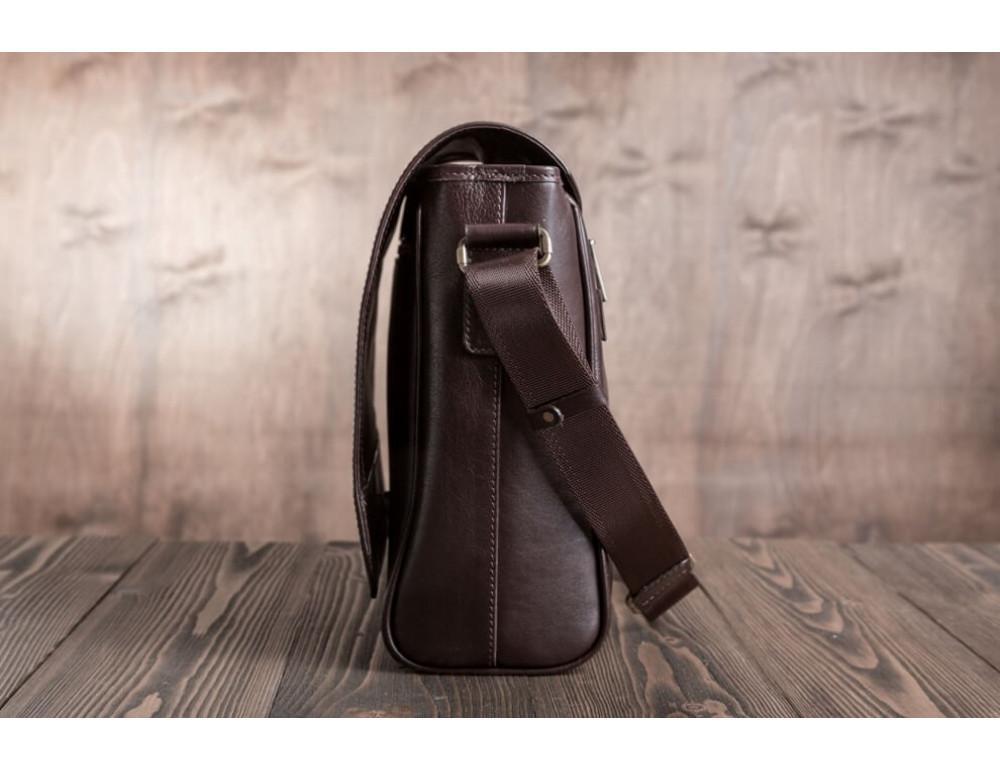 Мужская кожаная сумка-мессенджер BN092C - Фото № 4